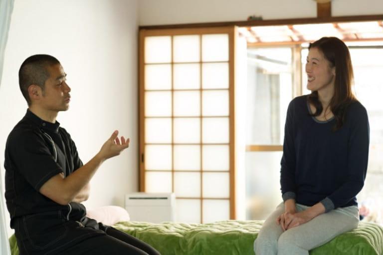 腰痛患者も肩こり患者も、問診を大切に