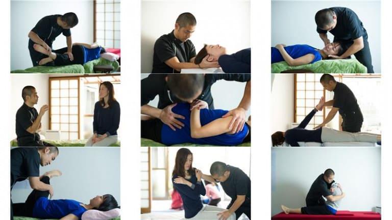全身調整でぎっくり腰の処置:千里丘の俊カイロ