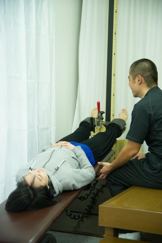 千里丘で内臓下垂の筋肉・神経調整